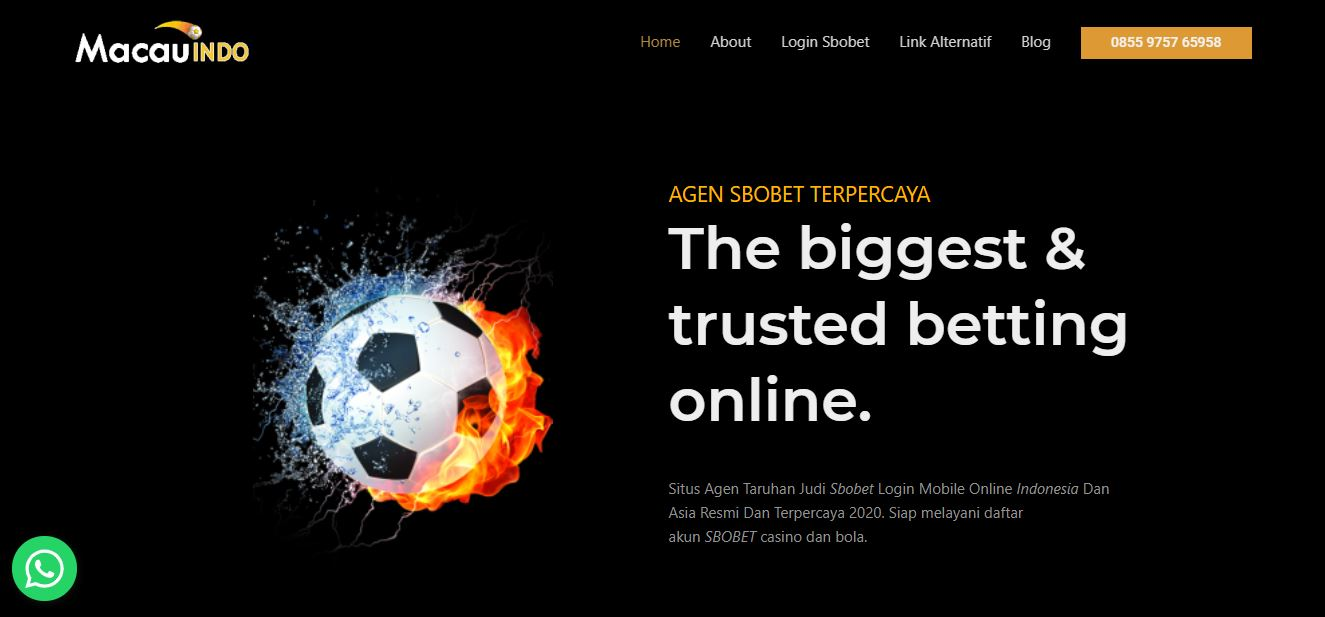 SBOBet Review - Why Choose Macauindo Betting Agent.