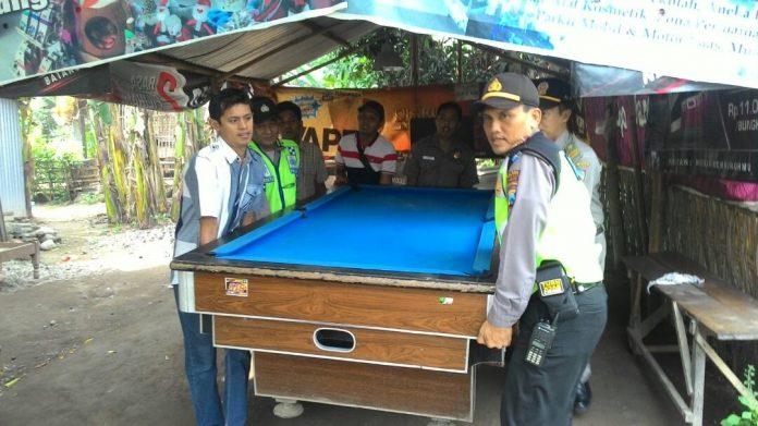 Ditemukan Main Judi Biliar, Tiga Tersangka Pelaku Ditangkap Polres Kepulauan Meranti